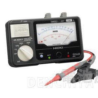 IR4041-10 日置電機 アナログメグオームハイテスタ HIOKI スイッチなしリード付属 <特価品>