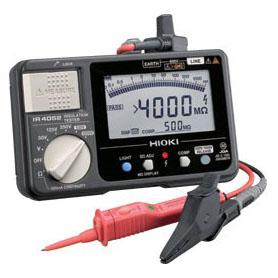 IR4052-10 日置電機 絶縁抵抗計 HIOKI スイッチなしリード付属 <特価品>