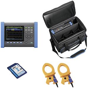 PQ3100-91 日置電機 HIOKI 電源の保守とトラブル 1台で記録解析 電源品質アナライザ 600Aセンサ2本他セット