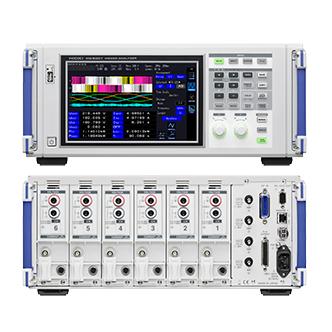 PW6001-05 日置電機 HIOKI モーター・電力変換効率を高精度計測するパワーアナライザ 5ch