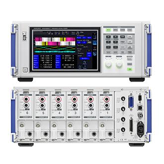 PW6001-14 日置電機 HIOKI モーター・電力変換効率を高精度計測するパワーアナライザ 4ch モータ解析&D/A出力