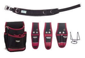 JNDS2-R96BK-SET ジェフコム(デンサン) 電工プロキャンバス腰道具セット