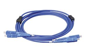 LARM-SCMM-10 ジェフコム(デンサン) 外装付オプティカルファイバーパッチケーブル