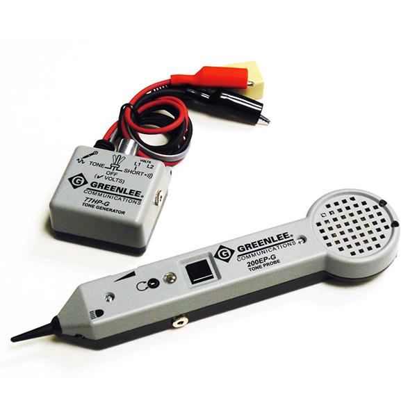 701KRC グッドマン 被覆の上からペア線識別・ケーブル探索可能!トーンプローブセット リチウム充電池内蔵タイプ