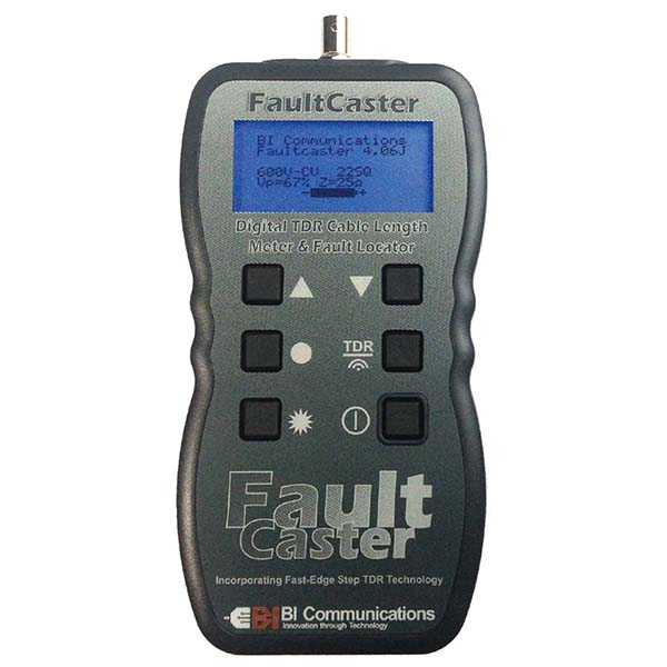 FC200 グッドマン 断線・短絡箇所までの距離をデジタル数値で表示!デジタルTDRケーブル測長機
