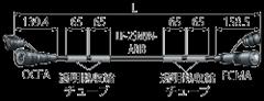 FCM02N-OCF-ARIB カナレ 光カメラ変換ケーブル 2m