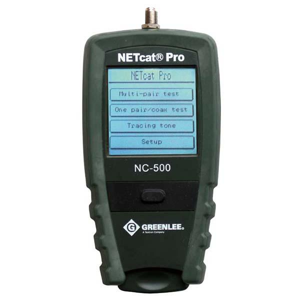 NC500 グッドマン パルス反射式ケーブル測長機能(TDR)搭載!ギガビット対応LANテスター