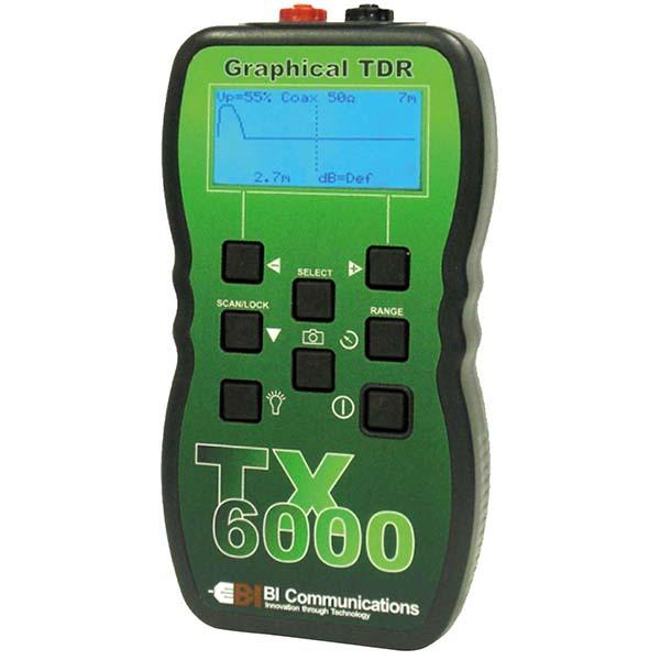 TX6000 グッドマン 事故点までの距離・ケーブルの障害内容が分かります!TDRケーブル診断・長機