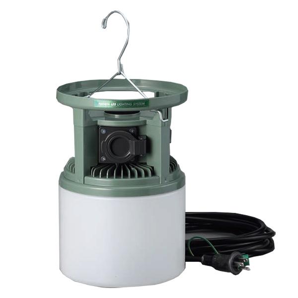 LTL-24WK ハタヤ 最大15灯まで連結可能!コンセント2個 照明スイッチ付き 24W 防雨型LED吊り下げ灯