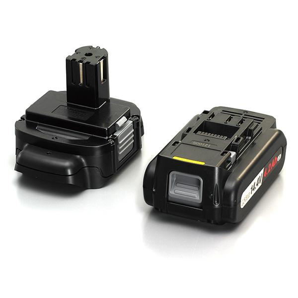 EZ9740ST パナソニック 電池アダプタ+リチウムイオン電池パック(14.4V 4.2Ah LSタイプ)セット | 電動工具 | DIY | 日曜大工 | 作業用品 | 現場用品