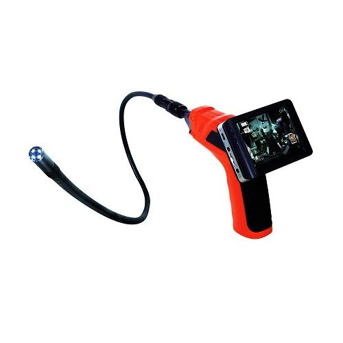 IES35-3 日動 工業用内視鏡 カラー液晶モニター付ファイバースコープ 録画機能付き