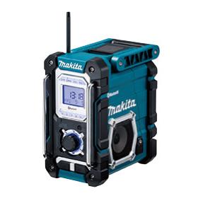 MR108 マキタ(MAKITA) 充電式ラジオ Bluetooth対応 ブルー 7.2V~18V/充電池・充電器別売 | 電動工具 | DIY | 日曜大工 | 作業用品 | 現場用品