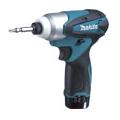 TD090DWX マキタ(MAKITA) 充電式インパクトドライバ ブルー 10.8V差込式/1.3Ah充電池・充電器・ケース付 | 電動工具 | DIY | 日曜大工 | 作業用品 | 現場用品