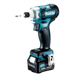 TD111DSMX マキタ(MAKITA) 充電式インパクトドライバ ブルー 10.8V/4.0Ahスライド式充電池・充電器・ケース付 | 電動工具 | DIY | 日曜大工 | 作業用品 | 現場用品