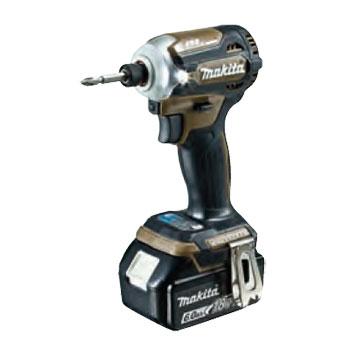 TD171DRGXAB マキタ(MAKITA) 充電式インパクトドライバ(オーセンティックブラウン) 18V/6.0Ah充電池セット | 電動工具 | DIY | 日曜大工 | 作業用品 | 現場用品