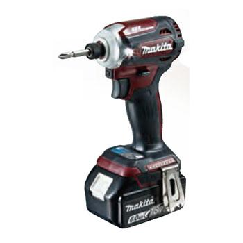 TD171DRGXAR マキタ(MAKITA) 充電式インパクトドライバ(オーセンティックレッド) 18V/6.0Ah充電池セット | 電動工具 | DIY | 日曜大工 | 作業用品 | 現場用品