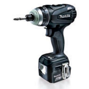 TP131DRGXB マキタ(MAKITA) 充電式4モードインパクトドライバ ブラック 14.4V/6.0Ah充電池・充電器・ケース付 | 電動工具 | DIY | 日曜大工 | 作業用品 | 現場用品