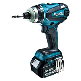 TP141DRGX マキタ(MAKITA) 充電式4モードインパクトドライバ ブルー 18V/6.0Ah充電池・充電器・ケース付 | 電動工具 | DIY | 日曜大工 | 作業用品 | 現場用品