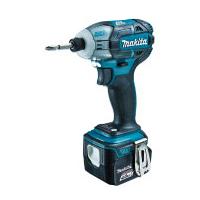 TS131DRGX マキタ(MAKITA) 充電式ソフトインパクトドライバ ブルー 14.4V/6.0Ah充電池・充電器・ケース付 | 電動工具 | DIY | 日曜大工 | 作業用品 | 現場用品