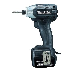TS131DRGXB マキタ(MAKITA) 充電式ソフトインパクトドライバ ブラック 14.4V/6.0Ah充電池・充電器・ケース付 | 電動工具 | DIY | 日曜大工 | 作業用品 | 現場用品