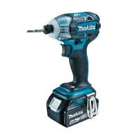 TS141DRMX マキタ(MAKITA) 充電式ソフトインパクトドライバ ブルー 18V/4.0Ah充電池・充電器・ケース付 | 電動工具 | DIY | 日曜大工 | 作業用品 | 現場用品