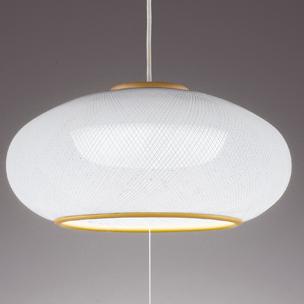 OX9704 オーデリック 綺麗な樹脂糸巻きセード! LEDペンダントライト ~8畳 昼白色 段調光タイプ