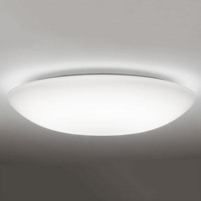 【エントリーでポイント5倍!】OX9708LDR オーデリック 和紙模様入りセード! LEDシーリングライト ~8畳 昼白色 段調光タイプ