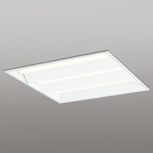 【エントリーでポイント5倍!】XD466009P4E オーデリック LED角型埋込ベースライト FHP45W×4灯相当 電球色 非調光