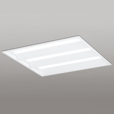 XD466017P1D オーデリック LEDスクエア型ベースライト FHP45W×3灯相当 温白色 非調光