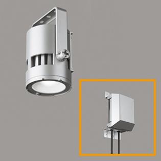 XG454015+XA453011 オーデリック 屋外用LED高天井用照明+専用電源セット 水銀灯400W相当 電源別置型 昼白色