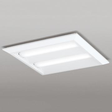 【エントリーでポイント5倍!】XL501016P2C オーデリック LEDスクエア型ベースライト FHP32W×4灯相当 白色 非調光 直付・埋込兼用型