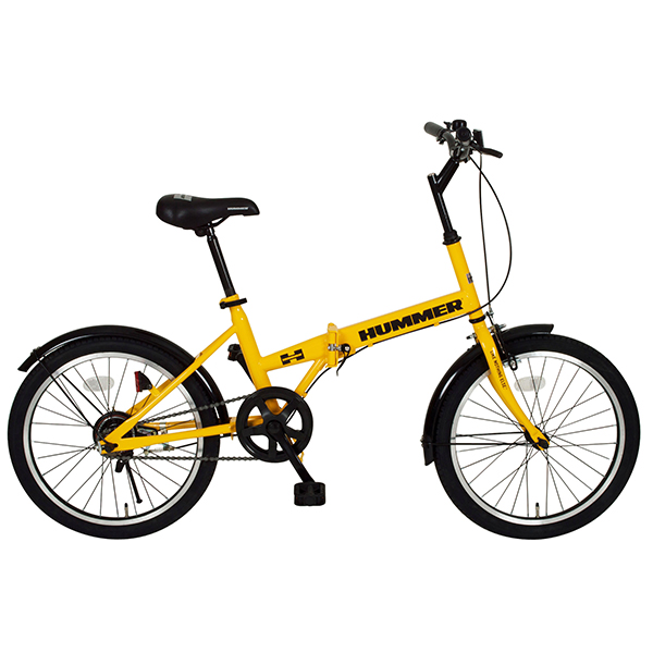 MG-HM20R ハマー FDB20R コンパクトな折畳自転車20インチモデル<代引不可><メーカー直送品>