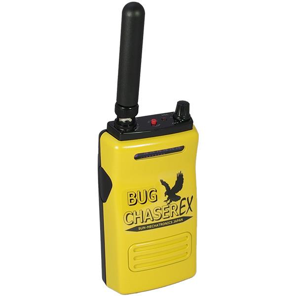 【ポイント10倍!】【5月おすすめ】バグチェイサーEX サンメカトロニクス 電波探知&盗聴判別機能デュアル!音声受信もできる高性能盗聴発見器