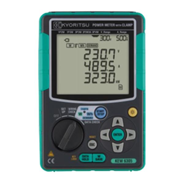 KEW 6305 KYORITSU(共立電気計器) コンパクト・パワーメータ 電力計【電池屋の日対象】