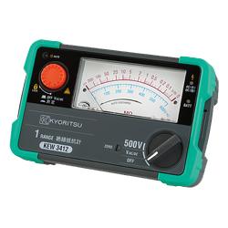 KEW 3412 共立電気計器 キューメグ 1レンジ 絶縁抵抗計【電池屋の日対象】