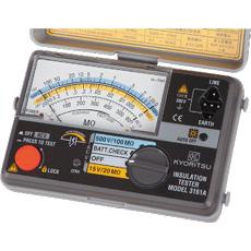 共立電気計器 MODEL3161A   KYORITSU 絶縁抵抗計 電気計測器