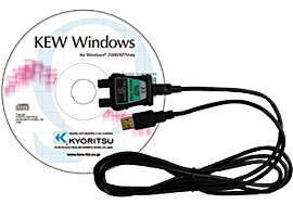 共立電気計器 8212-USB-W MODEL USB通信セット