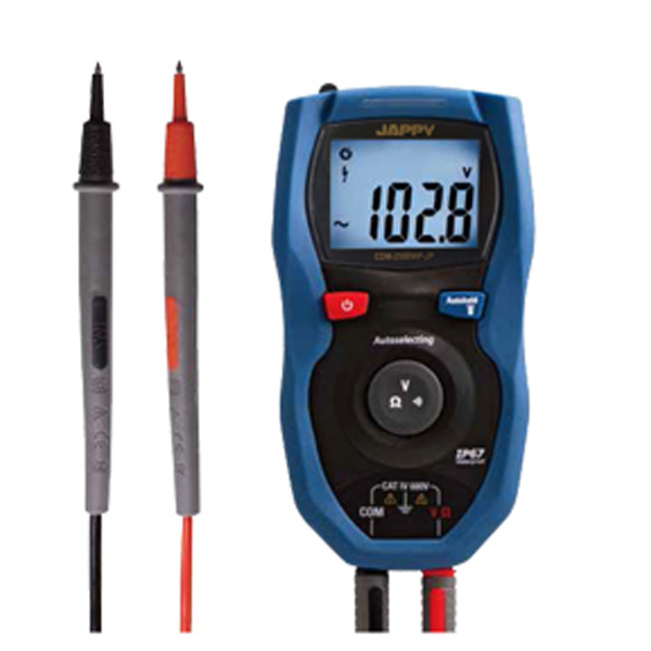 CDM-2500WP-JP JAPPY 防塵防水デジタルマルチメータ