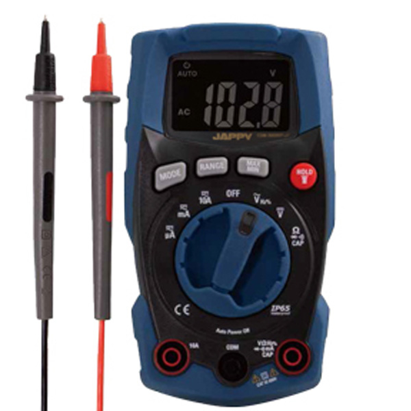 CDM-3000WP-JP JAPPY 防塵防水デジタルマルチメータ 多機能モデル