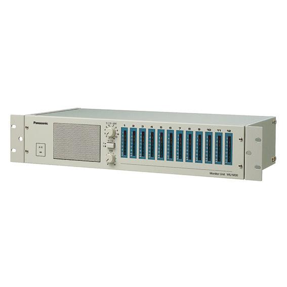 【メーカー欠品中 パナ納期未定】WU-M30 パナソニック 音響設備 業務放送・非常放送設備用モニターユニット