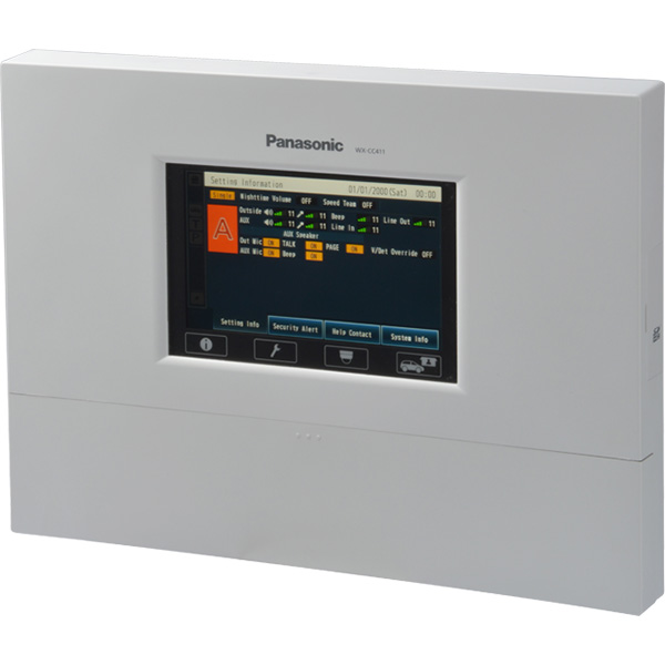 WX-CC411 パナソニック 音響設備 ワイヤレスコミュニケーションシステム センターモジュール シングルレーン【電池屋の日対象】
