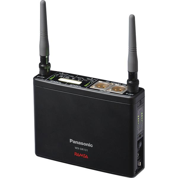 WX-DR131 パナソニック 音響設備 1.2 GHz帯(A型)/800 MHz帯(B型)の切り替可能! ポータブル型ワイヤレス受信機