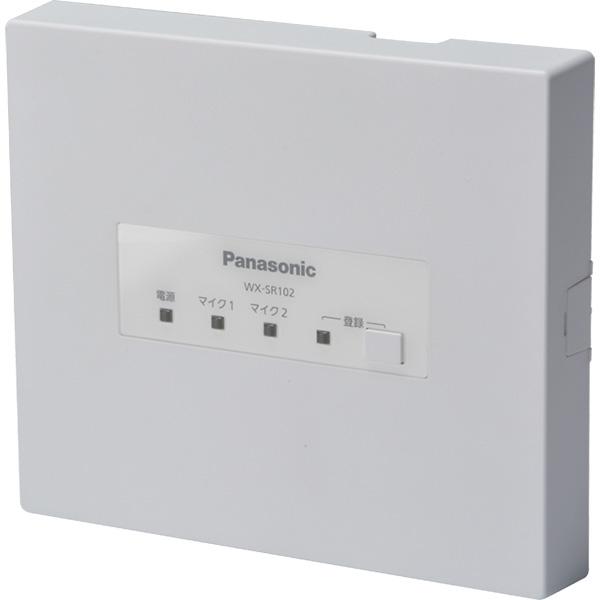 WX-SR102 パナソニック 音響設備 ワイヤレスマイクロホン WX-ST100/WX-ST300用 アンテナ内蔵受信機 | イベント | お祭り | 運動会 | 司会 | 講演 | セミナー | 会議【電池屋の日対象】