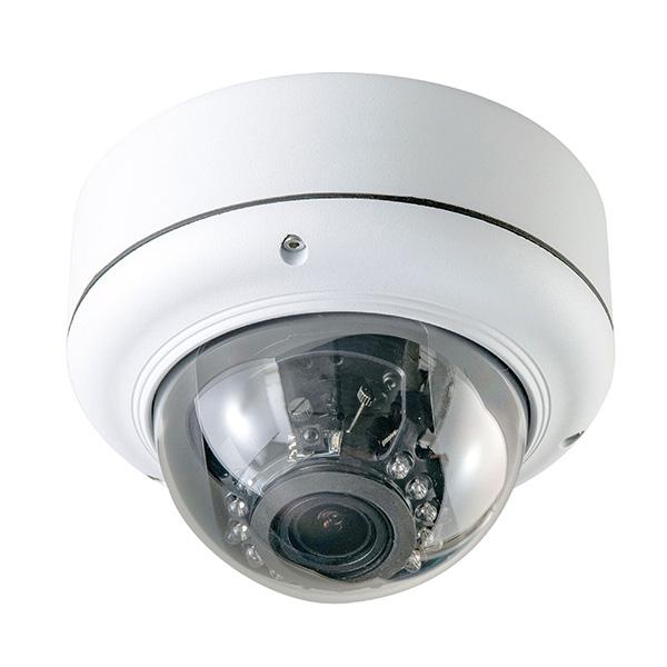 【4月おすすめ】ASD-02 キャロットシステムズ SDカードに直接録画!フルハイビジョン撮影! 視野角調整可能 赤外線暗視機能付 屋外防犯ドームカメラ | 監視カメラ | 防犯カメラ