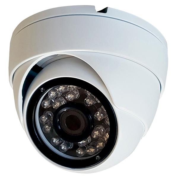 ASM08 マスプロ 1920×1080画質で撮影可能!屋外設置対応 赤外線暗視機能付き ドーム型AHD防犯カメラ