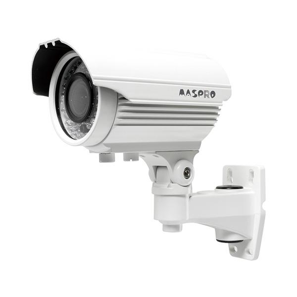ASM85 マスプロ 1920×1080画質で撮影可能!屋外設置対応 赤外線暗視機能・可変焦点レンズ付き AHD防犯カメラ