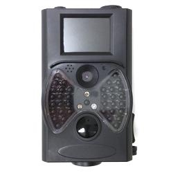 HCM-300 ASK 駐車場の監視や野生動物夜間観察に!屋外設置対応赤外線トレイルカメラ ブラック