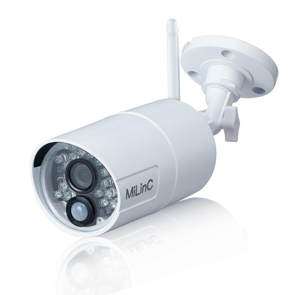 LCS-301HD MiLinC ホームセキュリティシステム LCS-101SD/LCS-201SD用増設屋外カメラ | 防犯カメラ | 監視カメラ
