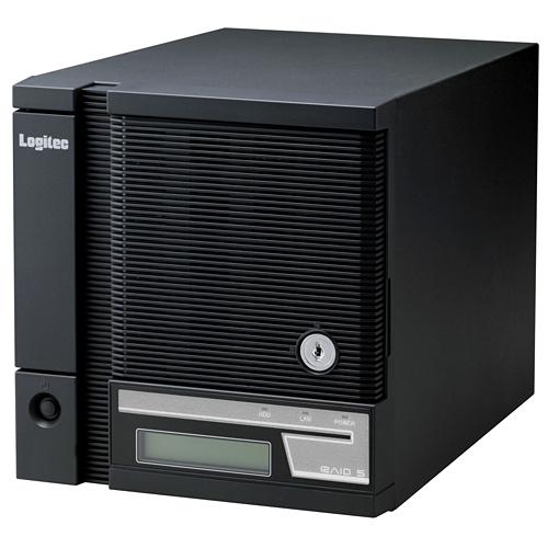 LSV-5S12T4CKWB ロジテック 大容量監視カメラ録画システム アロバビューレコーダー 12TB
