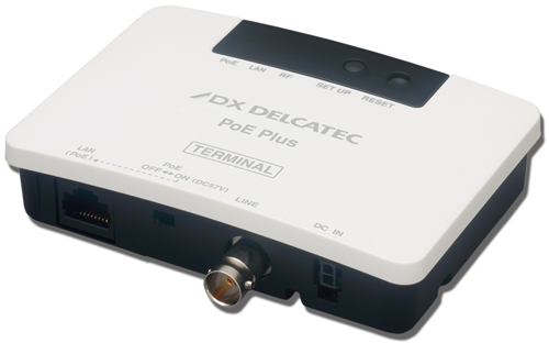 EOCP10T1  DXアンテナ 給電機能付IPカメラアダプター ターミナル(子機)